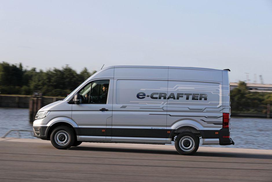 Le Nouveau Volkswagen Crafter Electrique Arrive