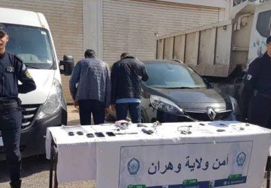 توقيف شبكة دولية مختصة في سرقة السيارات