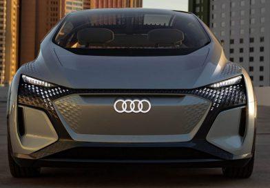 السيارة المستقبلية التي تم عرضها  من أودي في صالون الإلكترونيات