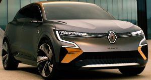 رونو ميغان فيزيون الكهربائية السيارة التي ستنافس فولكسفاغن أي دي 3